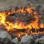 האש גוברת